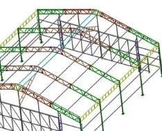 Параметры основных несущих металлоконструкций