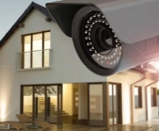 Безопасность дома с системой слежения с камеры