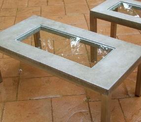 Оригинальный стол с бетонной столешницей (Петробетон Москва)