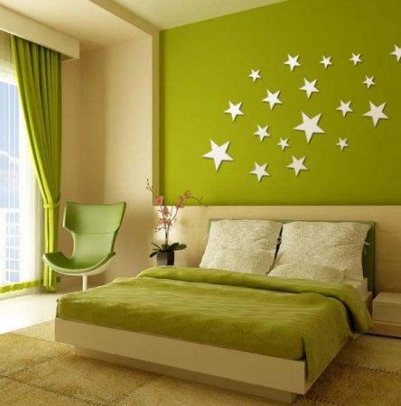 Выбор краски для спальни