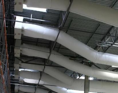 Проектирование текстильных воздуховодов