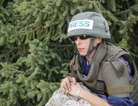 Журналисты в экстремальных условиях