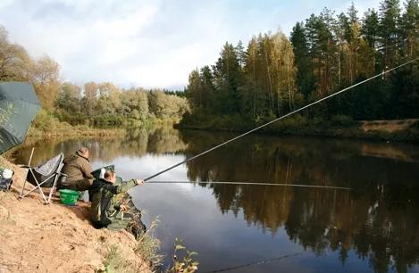 Как выбрать место для рыбалки